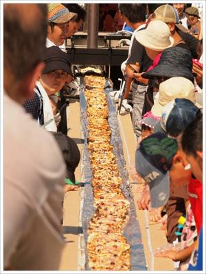 日本一長い111ピザ